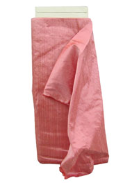 Cotton Candy Pink Dupioni Silk Fabric