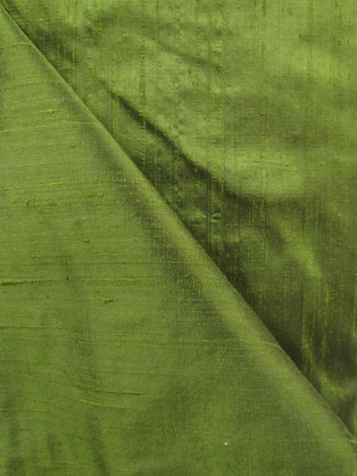 Dark Olive Dupioni Silk_MAIN