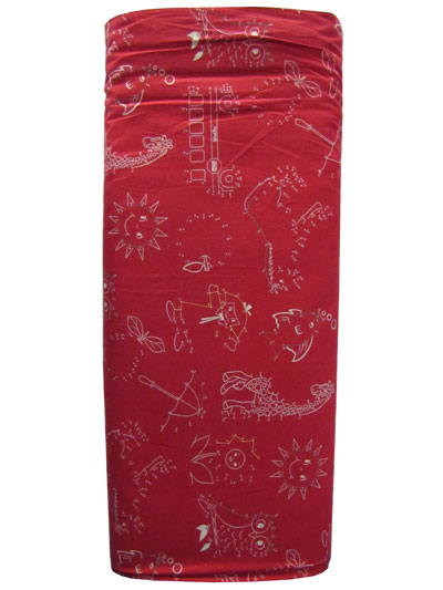 "Moda ""School Days"" #21610 col. 16 - Dot-to-Dot on Barn Red"