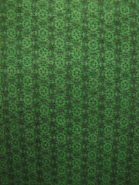 "Benartex ""Holiday Magic"" #499 col. 44 - Tiny Green Snowflake Print"