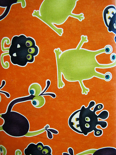Monster Bash Monsters and Goblins Print by Moda Fabrics Item# 17671-12_MAIN