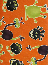 Monster Bash Monsters and Goblins Print by Moda Fabrics Item# 17671-12_THUMBNAIL