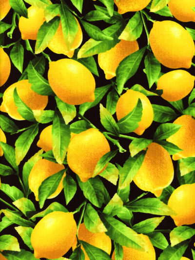 "Benartex ""Fresh Squeezed"" #8390-12 - Lemons"