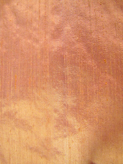 Light Coral Dupioni Silk Fabric
