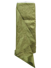 Olive Dupioni Silk Fabric