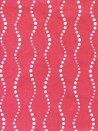 "Andover ""Sun Print"" by Alison Glass #A-5900-E - Salmon Pink with White Dots"