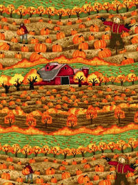 "SPX Fabrics ""Time to Harvest"" #4222-22830 col. MUL1 - Fall Scene_THUMBNAIL"