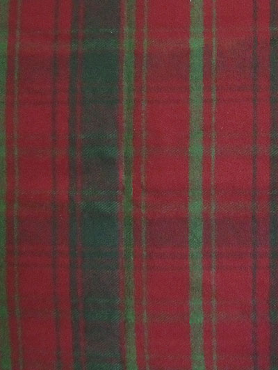 "Marcus Fabrics ""Primo Plaid Flannel"" #R09-J310-0123 - Green and Red Plaid Flannel"