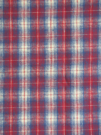 "Marcus Fabrics ""Primo Plaid Flannel"" #R09-J321-0111 - Red, White and Blue Plaid Flannel_MAIN"
