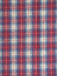 "Marcus Fabrics ""Primo Plaid Flannel"" #R09-J321-0111 - Red, White and Blue Plaid Flannel"