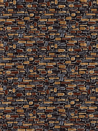 "Timeless Treasures ""Row by Row Fabric"" Row #4497 - Stones"