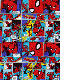 "Camelot ""Marvel Comics"" #13020202 col. 01 — Spiderman"