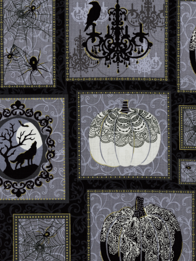 "Henry Glass & Co. ""Spellbound"" # 9905M col. 99 — Spooky Squares"