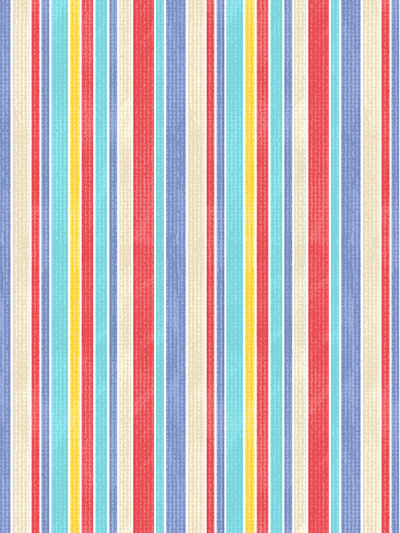 "Northcott ""Surfs Up"" # 21547-42 - Stripes"