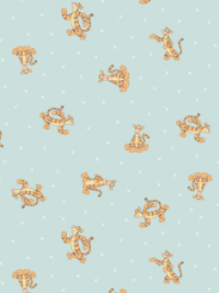 "Camelot ""Winnie the Pooh"" # 85430103-02 — Tigger on Light Blue"