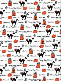 "Moda ""Spooky Delights"" by Bunny Hill Designs #2900 col. 13 — Trick or Treat!"