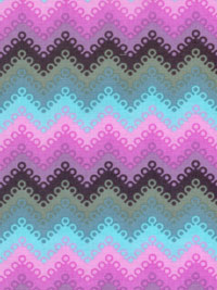 "Free Spirit ""Tula Pink-Fox Field-Pointed Lace"" #PWTP048-Dusk - Pointed Lace Chevron"
