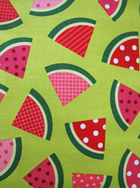 Robert Kaufman Metro Market #12517-38 - Watermelon