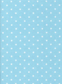 "Robert Kaufman ""Cozy Cotton"" Flannel # FIN-9255-70 Aqua - White Dots on Aqua Blue"