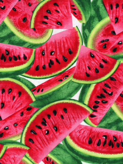 "Timeless Treasures ""Fruit"" # C1137 - Watermelon"