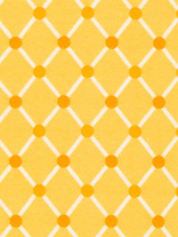 "Robert Kaufman ""Cozy Cotton"" Flannel # SRKF-16229-5-Yellow - Yellow and White Diamond Print"