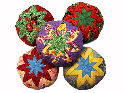 Folded Star Pincushion