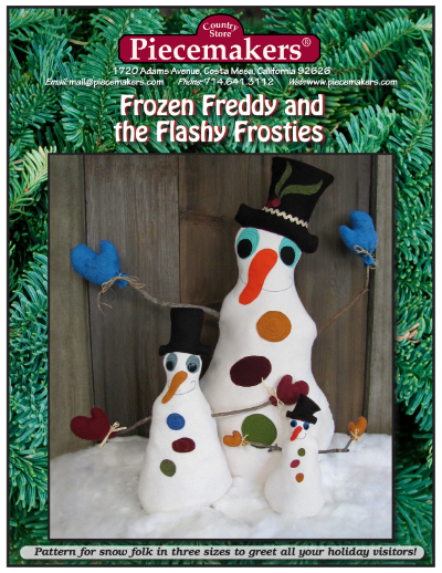 Frozen Freddy and the Flashy Frosties  NEW!