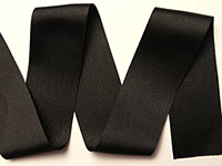 Grosgrain Ribbon - Black (S-1068 233)