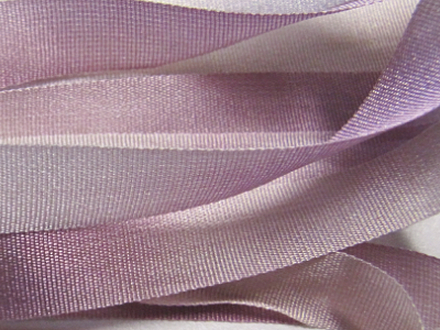 Gibb & Hiney Hand-dyed Silk Ribbon, 7mm — Cedar Rose