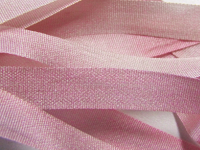 Gibb & Hiney Hand-dyed Silk Ribbon, 7mm — Champagne Blush