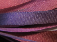 Gibb & Hiney Hand-dyed Silk Ribbon, 7mm — Plum