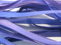 Gibb & Hiney Hand-dyed Silk Ribbon, 3.5mm — Viola