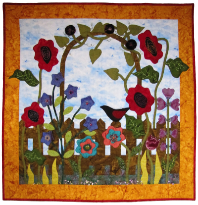 Grandma's Garden Gate Wallhanging_MAIN