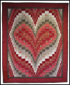 Heart Bargello Quilt Mini-Thumbnail