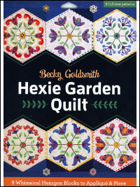 Hexie Garden Quilt - by Becky Goldsmith