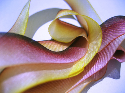 "Hanah Hand-dyed Silk Ribbon, 7/16"" — Briar Rose MAIN"