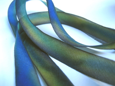 "Hanah Hand-dyed Silk Ribbon, 7/16"" — Fantasy_MAIN"