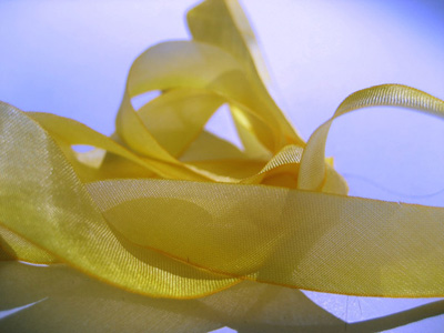 "Hanah Hand-dyed Silk Ribbon, 7/16"" — Wild Oats"