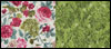 Deluxe Ironing Board Cover – Green and Rose (reversible) Mini-Thumbnail