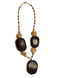 African Nut Necklace