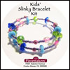 Kids' Slinky Bracelet Kit 1 – Blue, Green and Pink_SWATCH