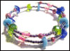 Kids' Slinky Bracelet Kit 1 – Blue, Green and Pink Mini-Thumbnail