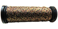 Kreinik #8 Braid - 071 Black/Gold/Copper
