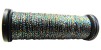 Kreinik #8 Braid - 209C Black/Multi Color