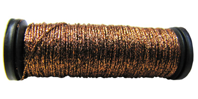 Kreinik #8 Braid - 021HL Bronze_MAIN