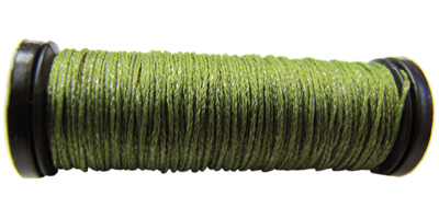 Kreinik #8 Braid - 5535 Flat Leaf Green