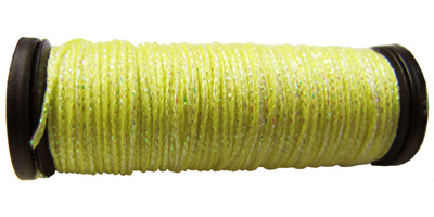 Kreinik #8 Braid - 5725 Lemon Yellow