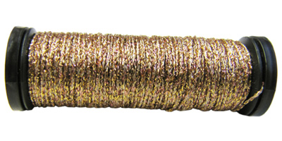 Kreinik #8 Braid - 221 Light Copper