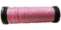 Kreinik #8 Braid - 092 Pink Sparkle