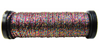 Kreinik #8 Braid - 042 Variegated Pink/Teal/Gold